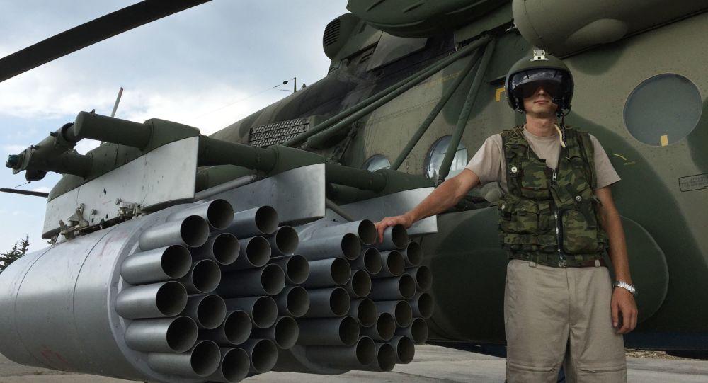 Piloto ruso en la base aérea siria de Hmeimim