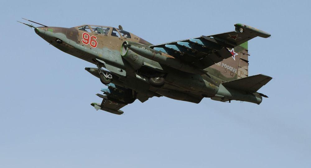 Aviones de asalto Su-25SM