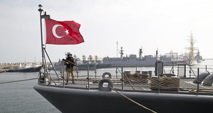 Buque turco (imagen referencial)