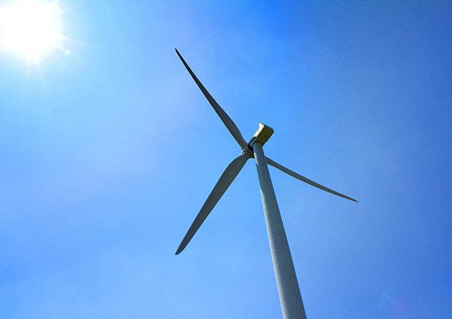Molino de viento (ilustración)
