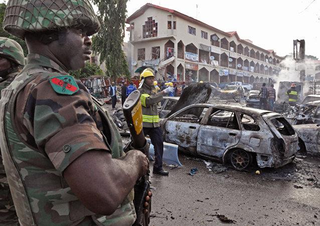 Atentado en Nigeria (archivo)