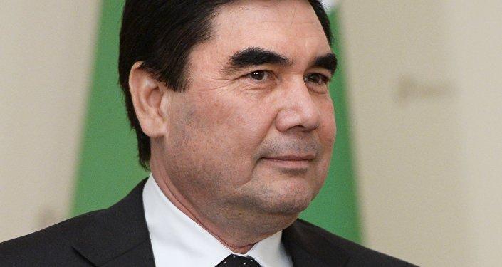 Gurbangulí Berdimujamédov, presidente de Turkmenistán