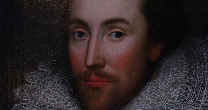 Retrato del famoso dramaturgo William Shakespeare