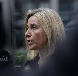 Federica Mogherin, jefa de la diplomacia europea