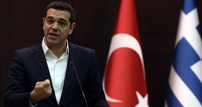 Alexis Tsipras, primer ministo griego