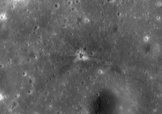 Hallan el área de impacto del acelerador del Apollo 16 en la Luna