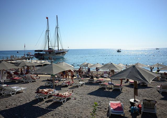 Turistas rusos en Antalya (archivo)