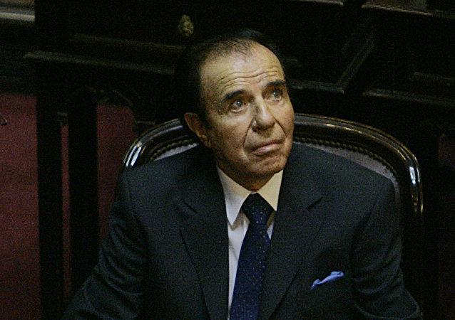 Carlos Menem, expresidente de Argentina