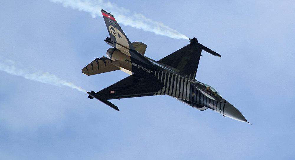 F-16 de la Fuerza Aérea turca