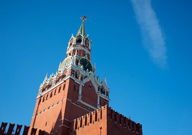 La torre Spásskaia del Kremlin