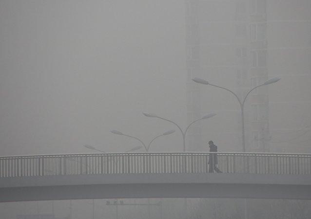 Contaminación atmosférica en Pekín