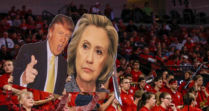 Trump y Clinton, los dos candidatos más populares según encuesta