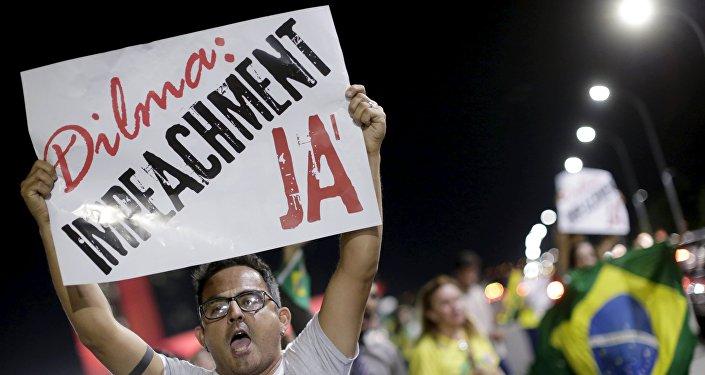 El Congreso de Brasil inicia el proceso de impeachment contra Rousseff