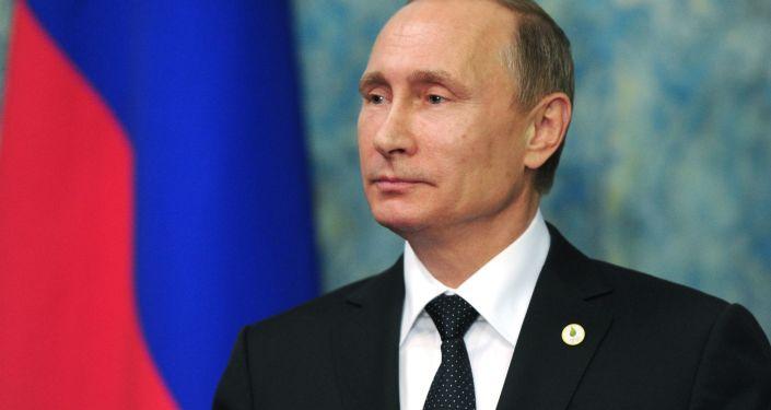 El presidente ruso, Vladímir Putin, durante su visita a París (archivo)