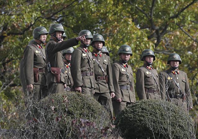 Soldados norcoreanos (archivo)