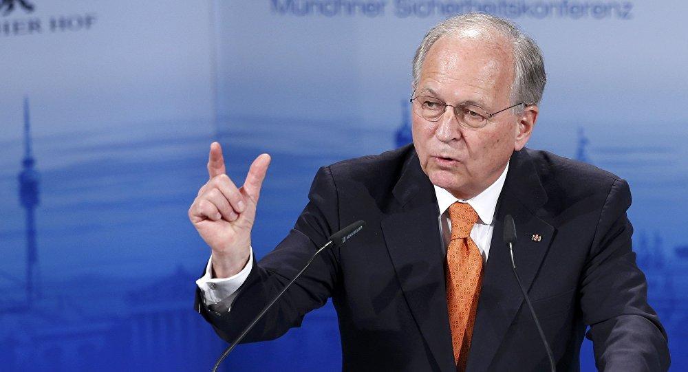 El presidente de la Conferencia de Seguridad de Múnich, Wolfgang Ischinger