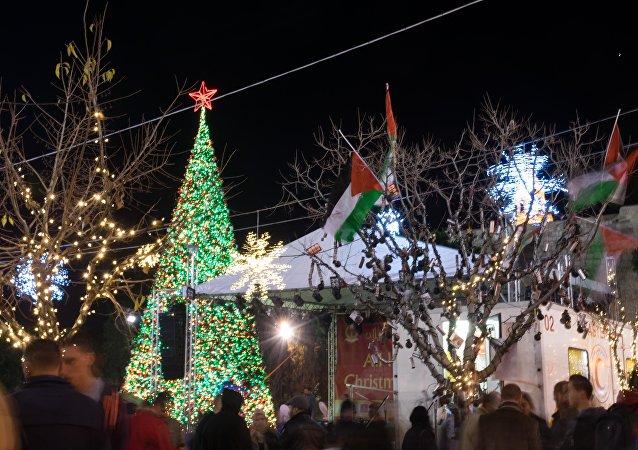 Belén celebrará la Navidad con actos festivos a pesar de la última ola de violencia