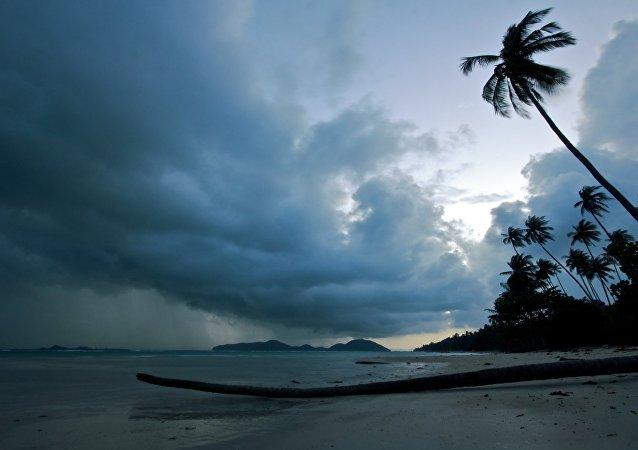 Una playa en Tailandía