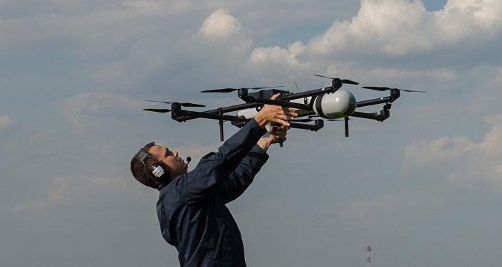 Un dron (Archivo)