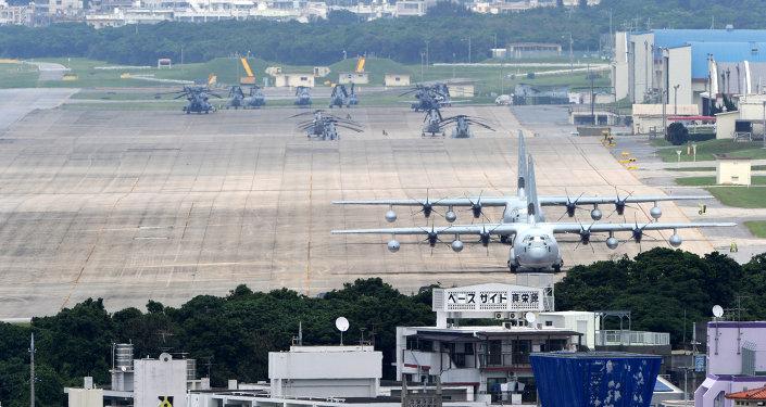 Base de la Fuerza Aérea estadounidense en Okinawa