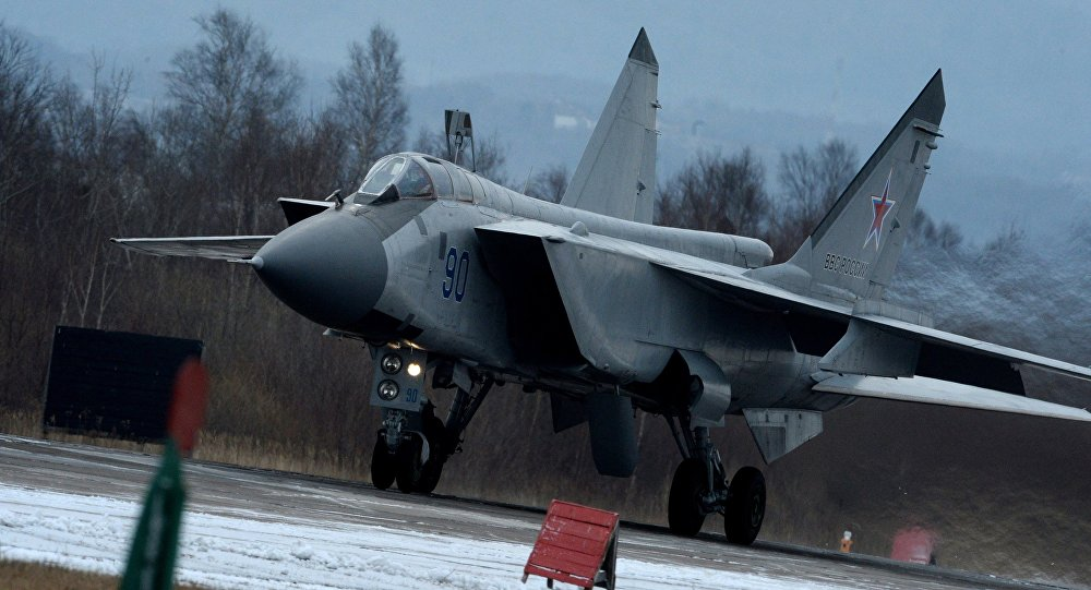 El caza MiG-31BM