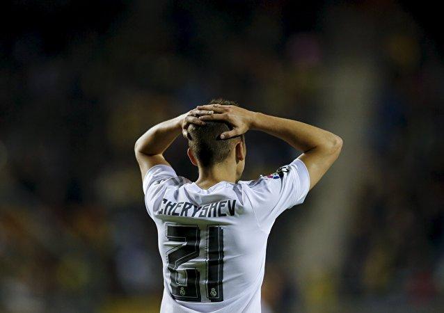 Denis Cheryshev, futbolista del Real Madrid
