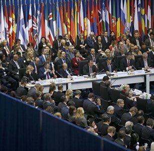 Reunión del Consejo de Ministros de Exteriores de la OSCE (archivo)