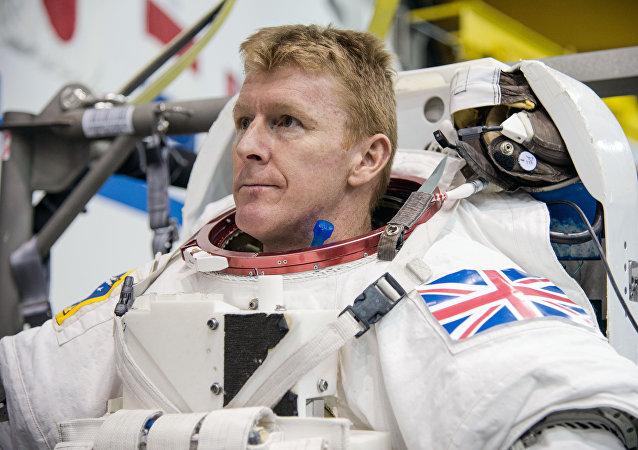 Timothy Peake, astronauta británico