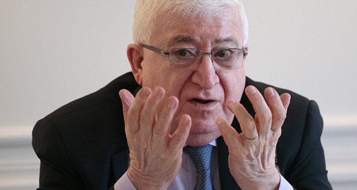 Fuad Masum, el presidente de Irak