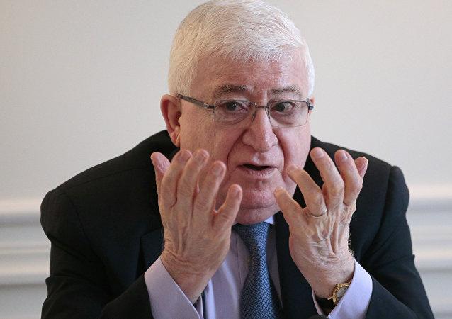 Fuad Masum, presidente de Irak