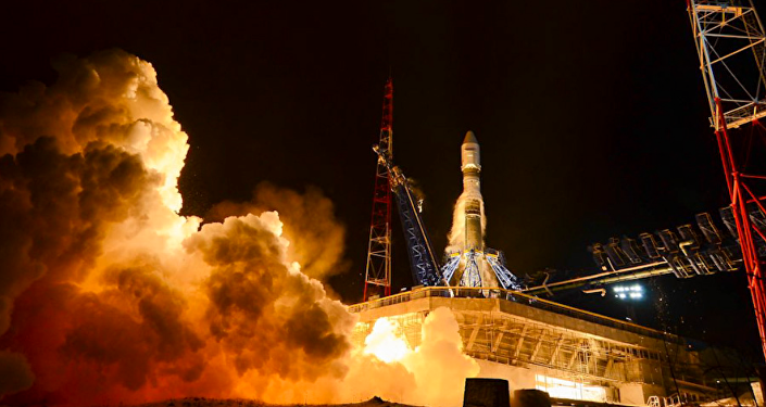 Lanzamiento del cohete Soyuz