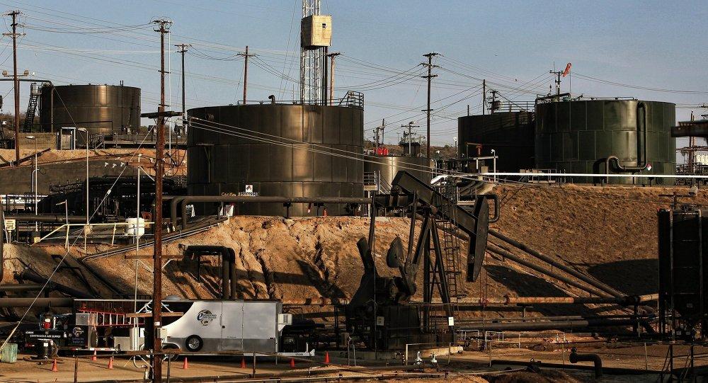 Planta de fracking (imagen referencial)