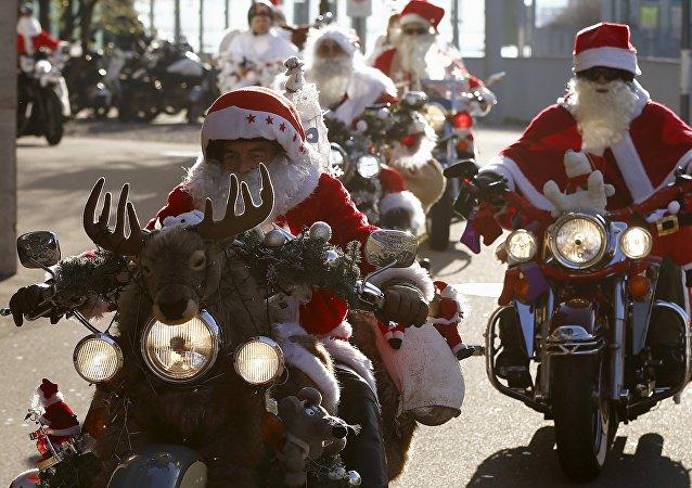 Carreras de Santa Claus en el mundo