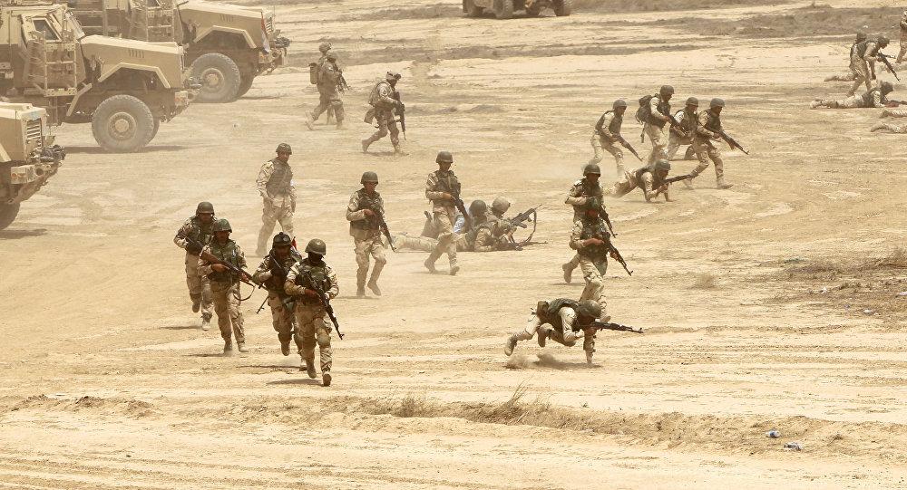 Soldados iraquíes