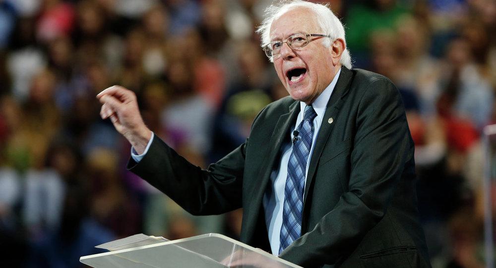 Bernie Sanders, el aspirante a la presidencia de EEUU por el Partido Demócrata