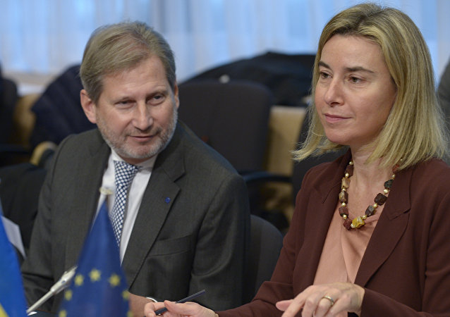 Federica Mogherini, vicepresidenta de la Comisión Europea
