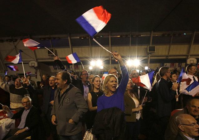 La bandera de Francia (imagen referencial)