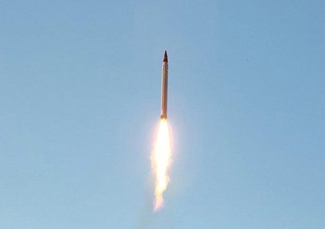 Misil iraní (archivo)
