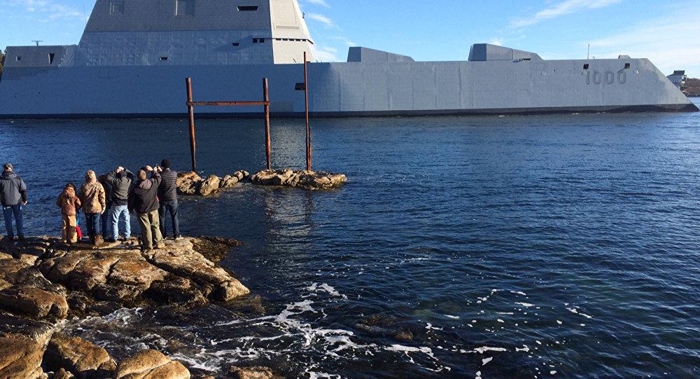 USS Zumwalt, el desctructor de EEUU