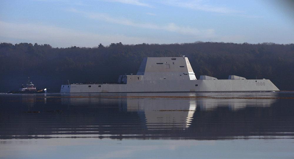 El destructor USS Zumwalt