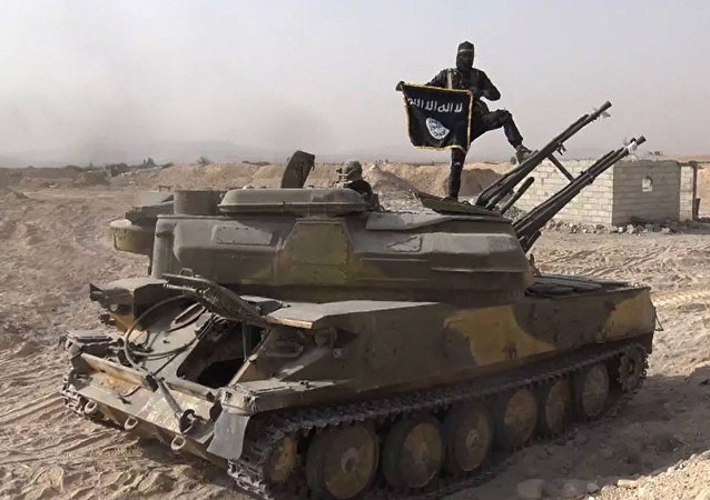 El integrante de Daesh en Siria