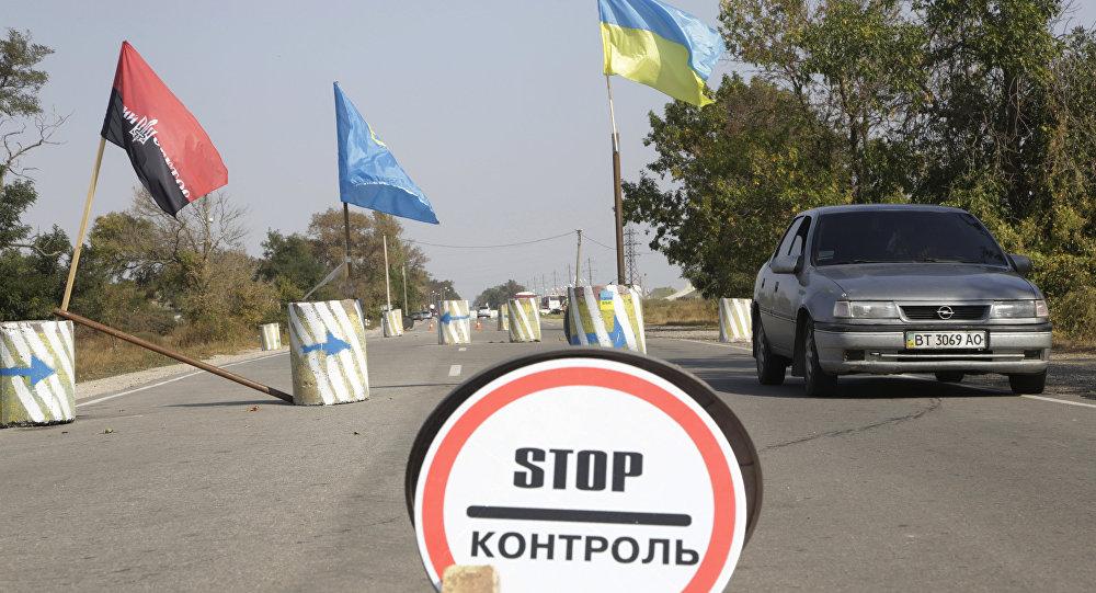 Bloqueo de Crimea
