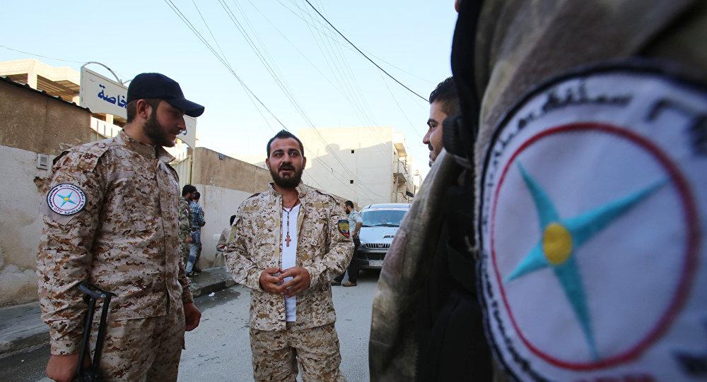 Milicias de cristianos asirios del grupo Sitoro