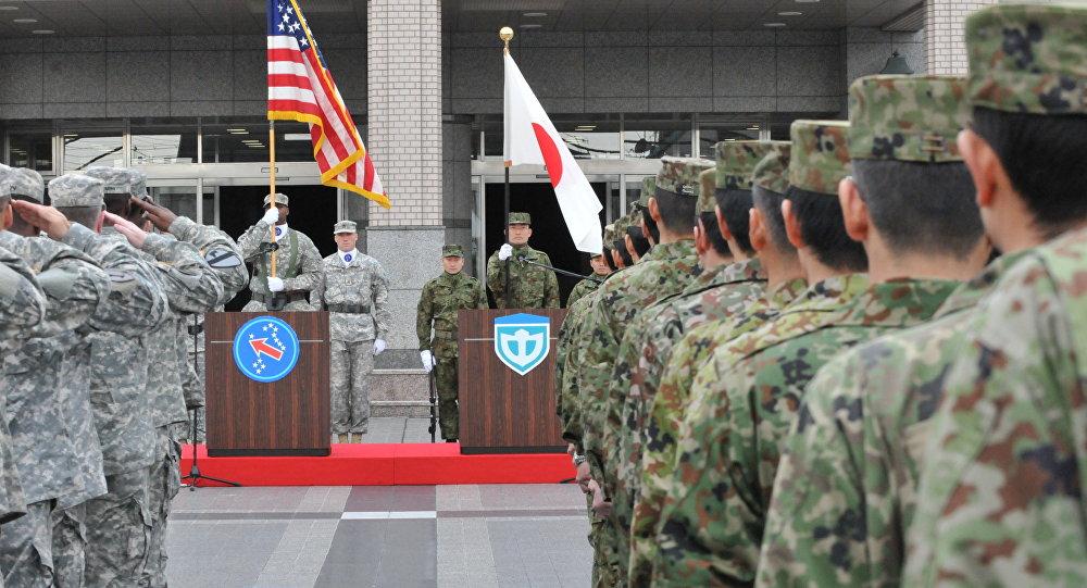 Ejercicios militares conjuntos de EEUU y Japón Yama Sakura (archivo)