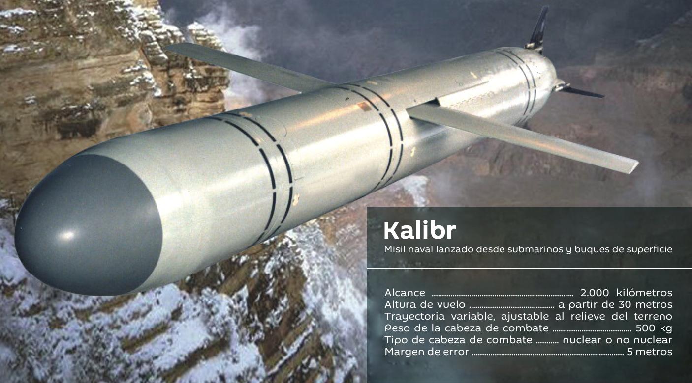 Misil de crucero Kalibr
