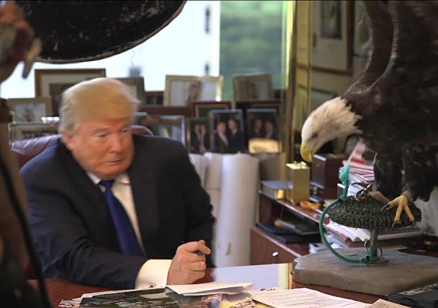 El 'Tío Sam' ataca a Trump