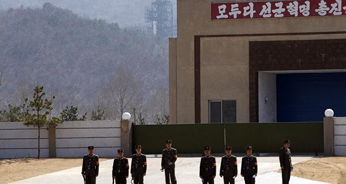 La base norcoreana de Sohae (Archivo)