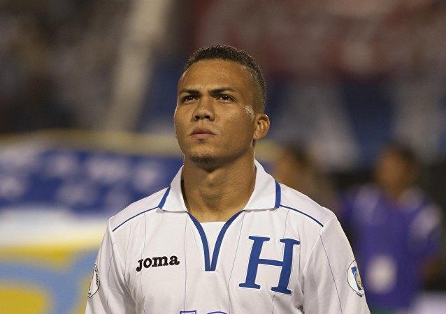 Arnold Peralta, defensa de la selección hondureña de fútbol