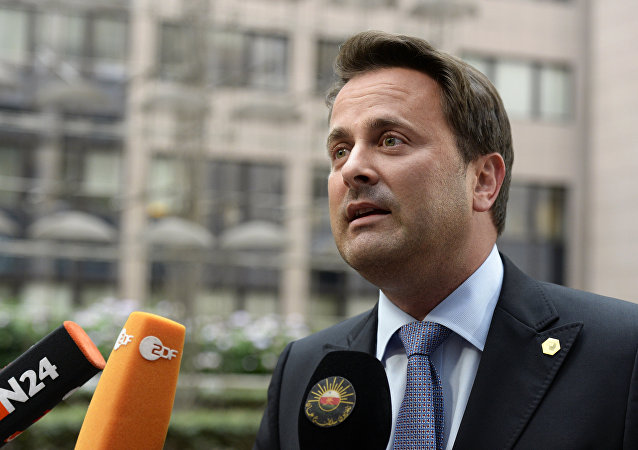 Xavier Bettel, primer ministro de Luxemburgo