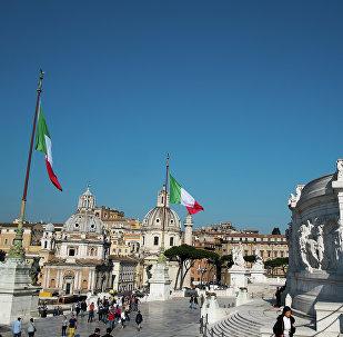 Площадь Венеции (Piazza Venezia) в Риме